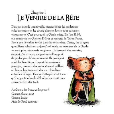 Page 6 Légendes de la garde tome 1