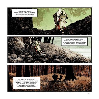 Page 7 Légendes de la garde tome 1