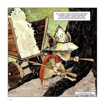 Page 8 Légendes de la garde tome 1