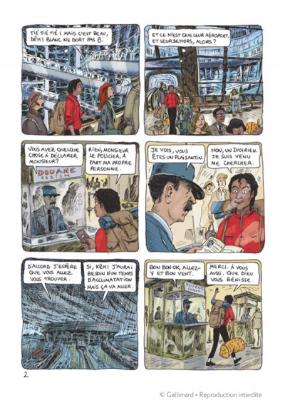 Page 2 Aya de yopougon tome 4