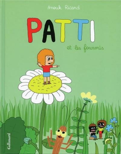 Couverture Patti tome 1 - patti et les fourmis