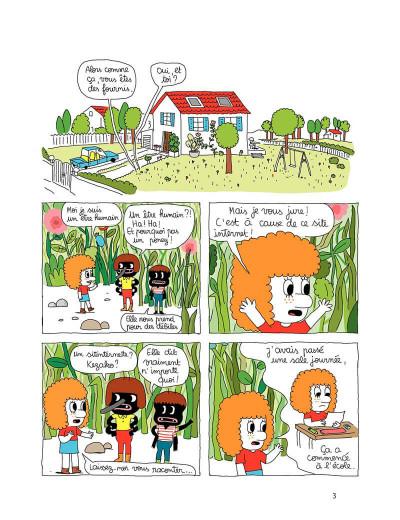 Page 3 Patti tome 1 - patti et les fourmis