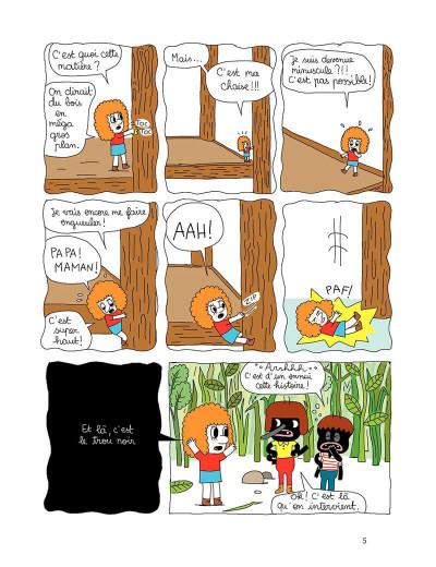 Page 5 Patti tome 1 - patti et les fourmis