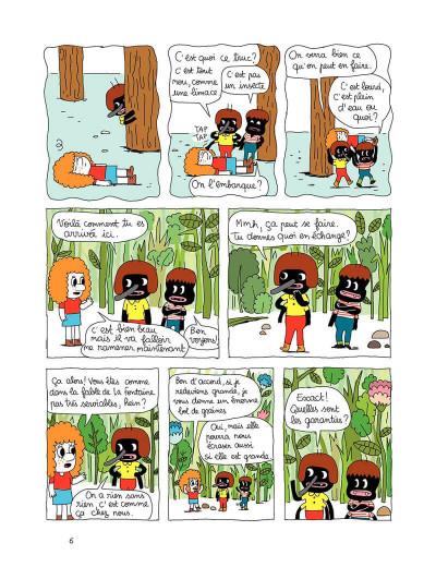 Page 6 Patti tome 1 - patti et les fourmis