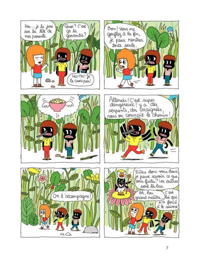 Page 7 Patti tome 1 - patti et les fourmis