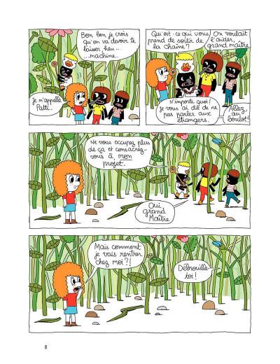 Page 8 Patti tome 1 - patti et les fourmis