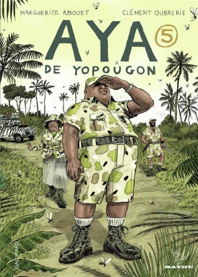 Couverture Aya de yopougon tome 5