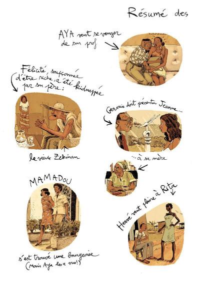 Page 3 Aya de yopougon tome 5