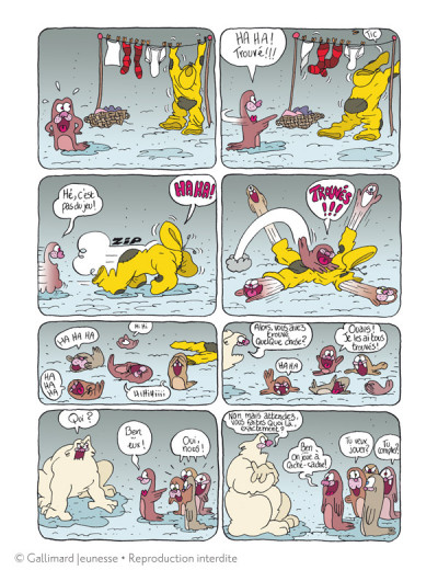 Page 2 Borgnol tome 2 - bébé phoque a disparu !