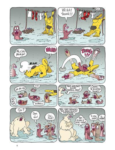 Page 4 Borgnol tome 2 - bébé phoque a disparu !