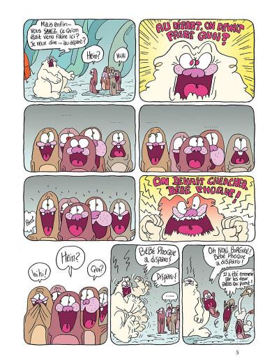 Page 5 Borgnol tome 2 - bébé phoque a disparu !