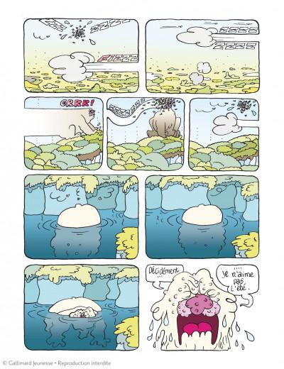Page 2 Borgnol tome 3 - zut, c'est l'été !