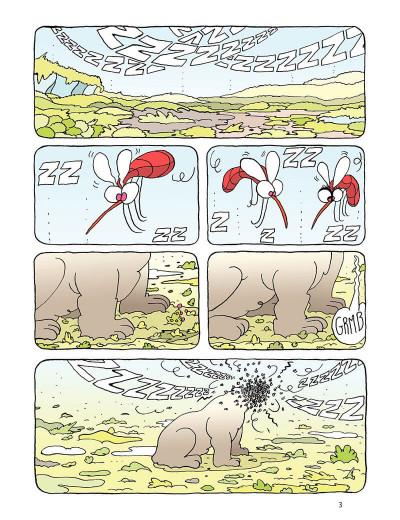 Page 3 Borgnol tome 3 - zut, c'est l'été !