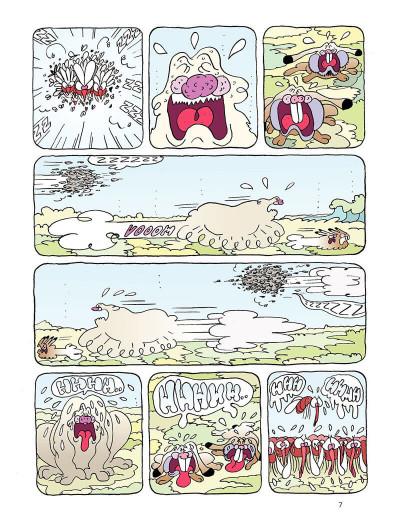 Page 7 Borgnol tome 3 - zut, c'est l'été !