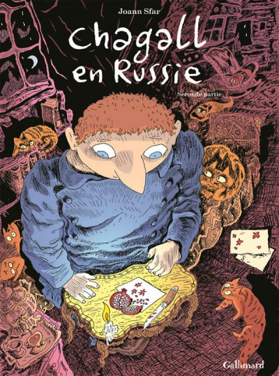 Couverture Chagall en Russie tome 2