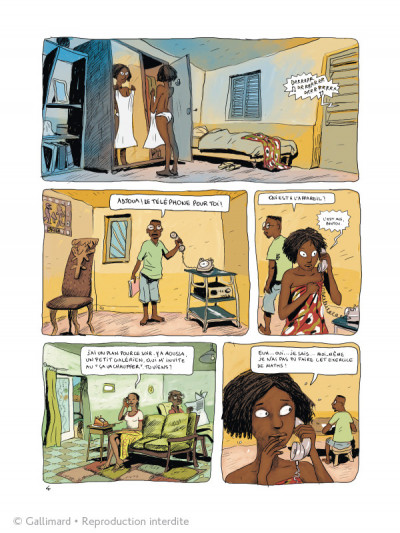 Page 4 Aya de Yopougon tome 1 et tome 2