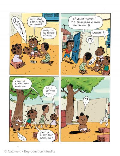 Page 2 Akissi tome 2 - super-héros en plâtre