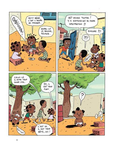 Page 4 Akissi tome 2 - super-héros en plâtre
