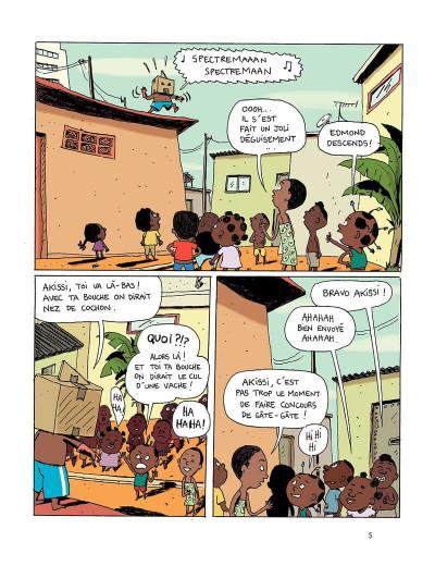 Page 5 Akissi tome 2 - super-héros en plâtre