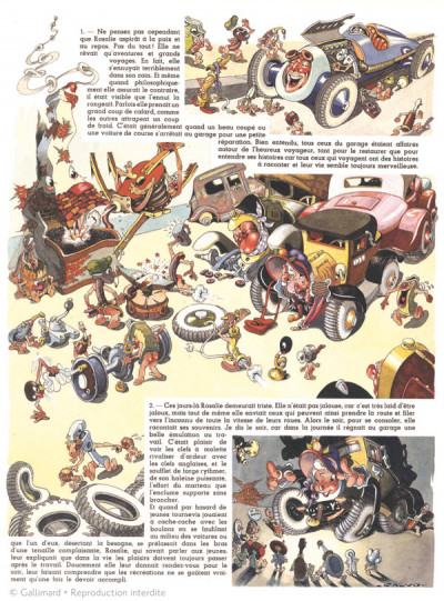 Page 2 Les aventures de Rosalie