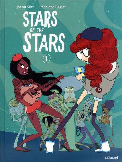 Couverture Stars of the stars tome 1