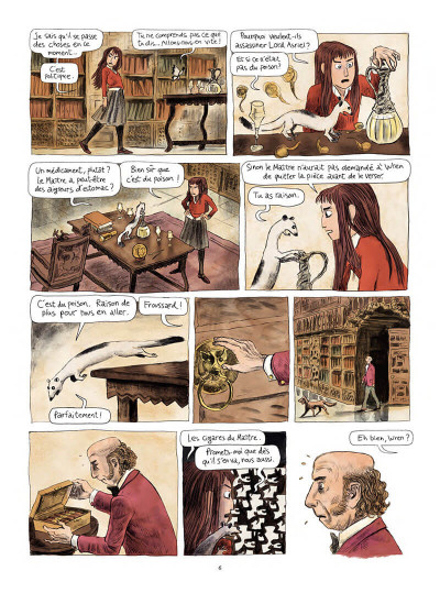 Page 7 Les royaumes du nord tome 1