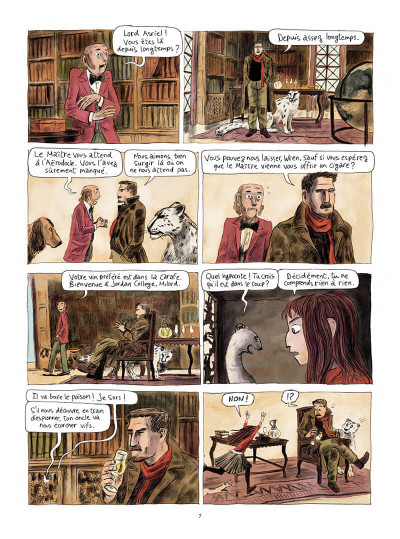 Page 8 Les royaumes du nord tome 1
