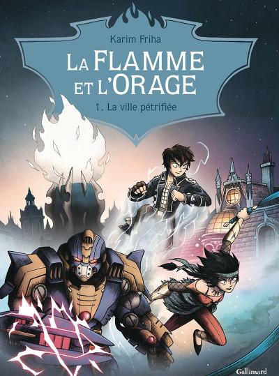 Couverture La Flamme et l'orage tome 1