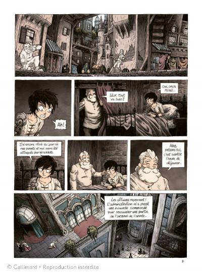 Page 3 La Flamme et l'orage tome 1