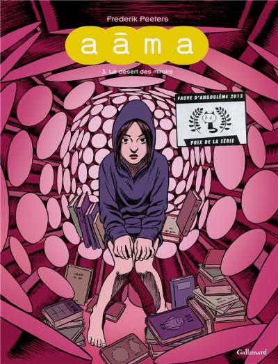 Couverture Aâma tome 3 - le désert des miroirs