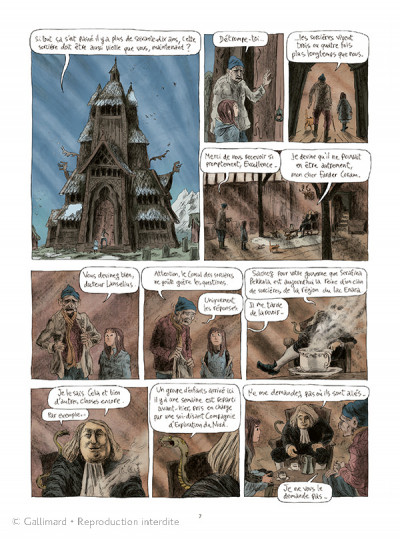 Page 3 Les royaumes du nord tome 2