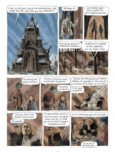 Page 9 Les royaumes du nord tome 2