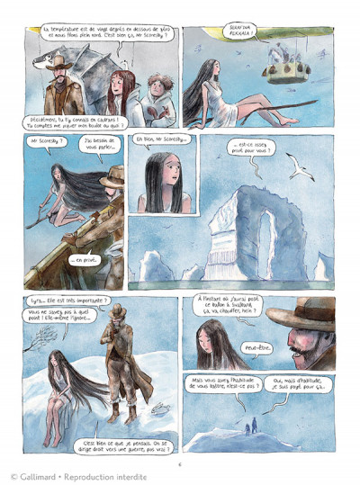 Page 2 Les royaumes du Nord tome 3