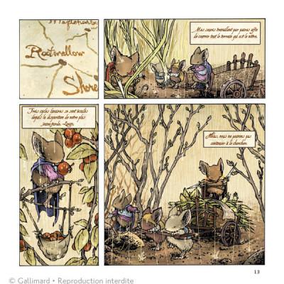 Page 3 Légendes de la Garde - La Hache noire