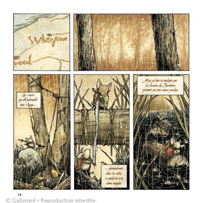 Page 4 Légendes de la Garde - La Hache noire