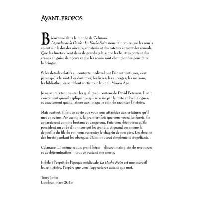 Page 5 Légendes de la Garde - La Hache noire