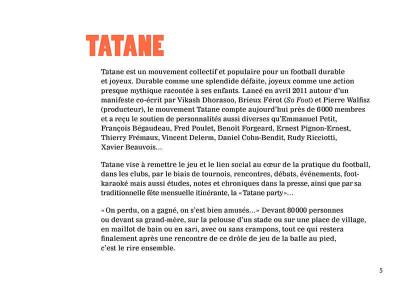 Page 3 Tatane - Pour un football durable et joyeux