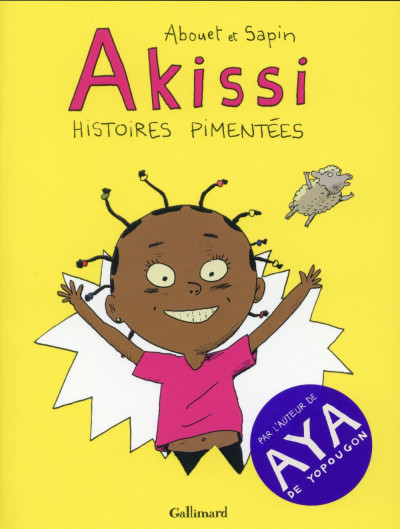 Couverture Akissi - Le Piment ivoirien - Intégrale tome 1 à tome 3