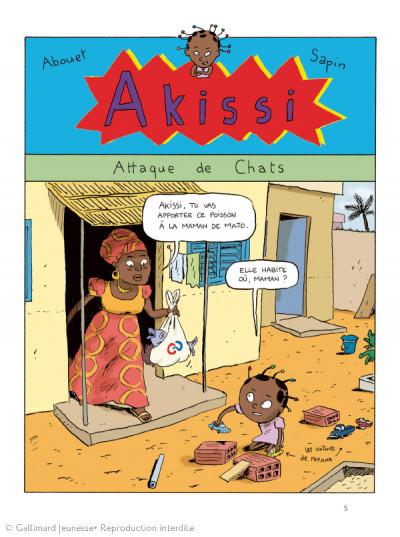 Page 1 Akissi - Le Piment ivoirien - Intégrale tome 1 à tome 3