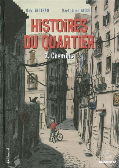 image de Histoires du quartier tome 2 - chemins