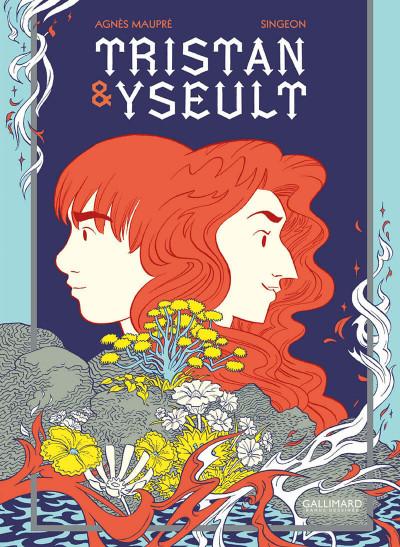 Couverture Tristan et Yseult