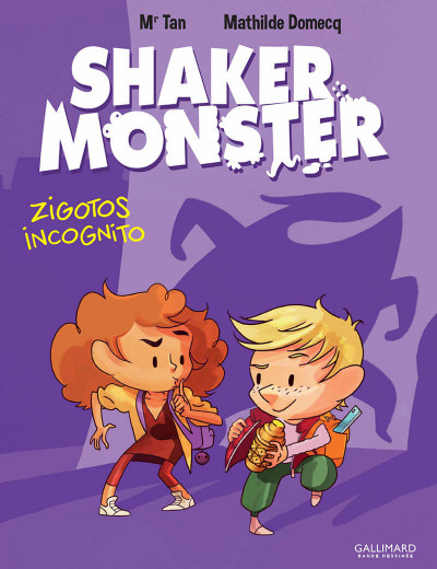Couverture Shaker monster tome 2