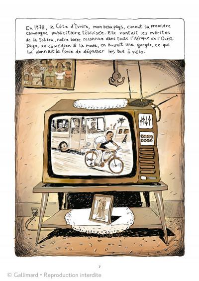 Page 1 Aya de Yopougon tome 1 - édition spéciale 10 ans