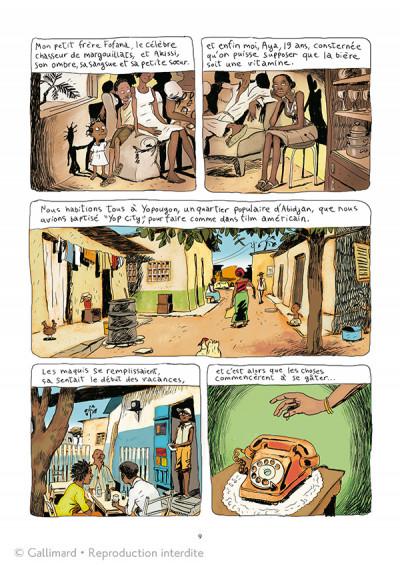 Page 3 Aya de Yopougon tome 1 - édition spéciale 10 ans