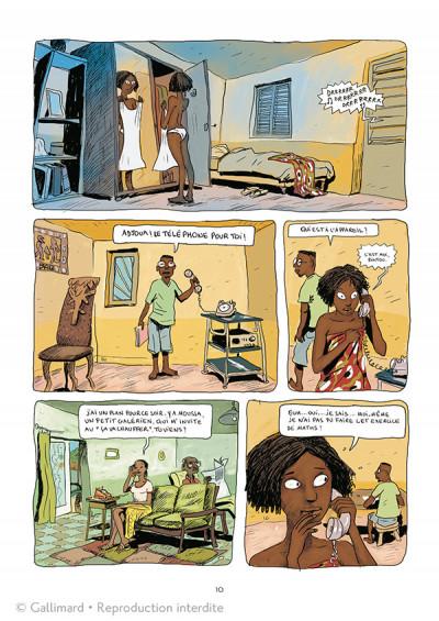 Page 4 Aya de Yopougon tome 1 - édition spéciale 10 ans
