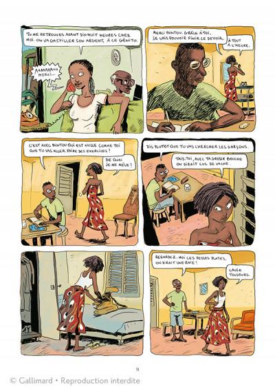 Page 5 Aya de Yopougon tome 1 - édition spéciale 10 ans