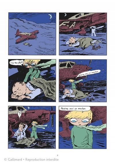 Page 5 Le Petit Prince - édition spéciale 10 ans