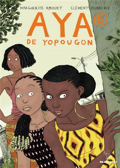 Couverture Aya de Yopougon tome 6