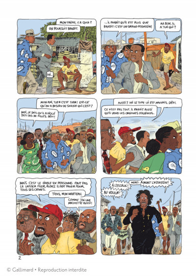 Page 2 Aya de Yopougon tome 6
