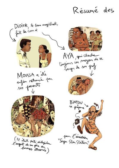 Page 3 Aya de Yopougon tome 6